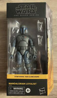 Hasbro Star Wars The Black Series MANDALORIAN LOYALIST Clone Wars *IN HAND*