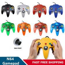 Con Cable N64 Controlador Gamepad Joystick para Nintendo 64 sistema Consola De Juegos Nuevo