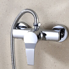 Wall Mounted Bathroom Faucet Mixer Tap Bath Tub Valve Shower Faucets Water