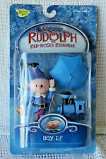 Rudolph Red-Nosed Reindeer Figure Collection BOY ELF 2003 Playing Mantis MOC NEW