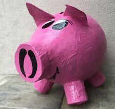 Spardose Sparschwein Riesengroß  Bauch-Umfang 120 cm  Kartenbox Umschläge pink