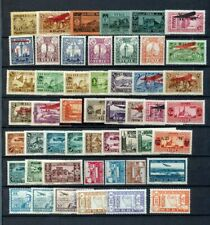 Middle East Mid Period MH Inc.Aviation Overprints (Apprx 50) (ZZ 129