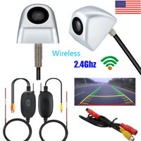 Wireless Car Rear View Reverse Backup Parking Assist Camera 170° Night Vision