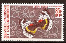 Nlle CALEDONIE Papillons- Poste aerienne 1967/68 , belle côte  D54