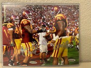 Rey Maualuga & Fili Moala Signed USC Trojans 8x10 Photo Upper Deck