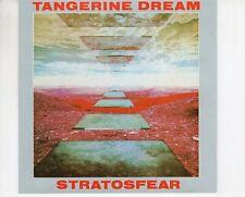CD TANGERINE DREAMstratosfearGERMAN 1988 EX NO BARCODE (A4623)