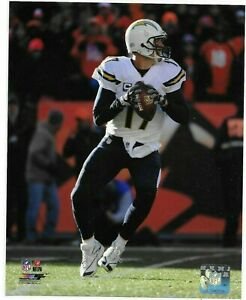 PHILIP RIVERS – SAN DIEGO CHARGERS NFL LICENSED 8x10 ACTION PHOTO