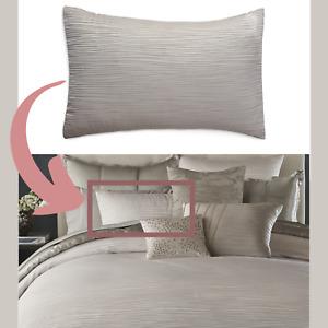NIB $165 Donna Karan Alloy Collection [ 1 ] Standard Pillow Sham #390