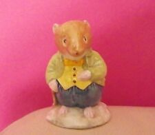 RARE ROYAL DOULTON BRAMBLY HEDGE FIGURE - OLD VOLE DBH 13 - PERFECT !!