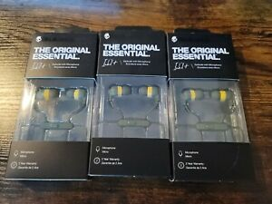 Skullcandy Ink'd The Original Essential Earbuds Microphone lot of 3  S2IMY-M687