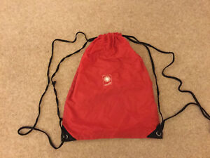 Red Sports Bag With Straps - By San Senart - Good Condition