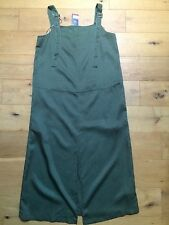 BNWT M&S LIMITED EDITION Khaki Military Style Maxi Dress @ Size 12 NEW