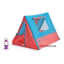 New American Girl Doll's Sunset Sleepover TENT~Camping Lantern~Lanie~Molly~NIB