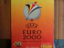 PANINI LEERALBUM EMPTY ALBUM EURO 2000  * GOOD CONDITION * look at the photos
