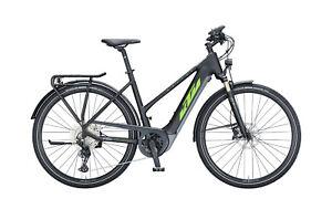 E Bike KTM MACINA SPORT 620  black matt, green+grey