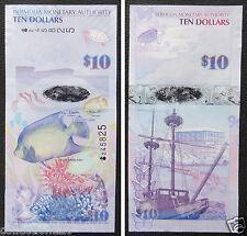 Bermuda Banknote 10 Dollars 2009 UNC