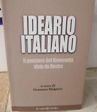 Ideario - 900 visto da Destra  Neo fascismo M.S.I. MSI
