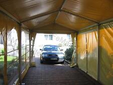 Festzelt Partyzelt Carport ...  Profizelt 3x9m / 4x Fenster