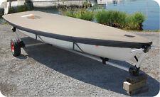 Custom Exact Fit LASER Sail Boat OEM Vanguard V-15 Deck Cover 5 Yrs Warranty