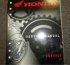 2004 2005 HONDA CBR900F 919 Service Shop Repair Factory Manual BRAND NEW
