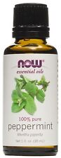 Now Foods Peppermint Oil, 1 Ounces (Pack of 3)