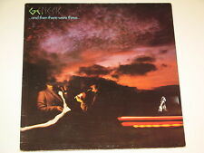 GENESIS and then there were three , Lp RECORD GATEFOLD  ROCK 1978