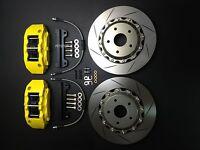 "FT GT 86 FR-S BRZ Brake pad kit disc 330mm 13"" rotors 6 piston calipers upgrade"