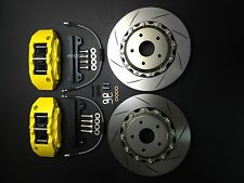 "FT GT 86 FR-S BRZ Brake pad kit disc 330mm 13"" rotors 6 piston calipers upgrade"