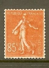 "FRANCE STAMP TIMBRE N° 204 "" SEMEUSE LIONEE 85c ROUGE "" NEUF xx TTB"