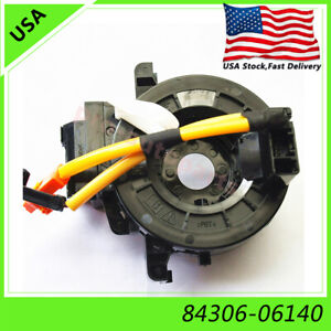 Spiral Cable 84306-48030 84306-06140 For Toyota Camry Land Cruiser Lexus Tacoma