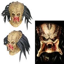 Predator Cosplay Mask Antenna Helmet Costume Props Halloween Party Adult Horror