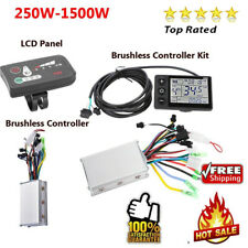 250W-1500W Brushless Motor Speed Controller for Electric Bicycle Scooter E-bike