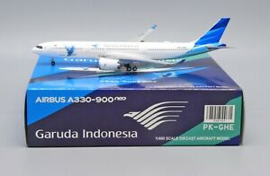 JC Wings 1:400 Garuda Indonesia Airbus A330-900 NEO 'Great Experience' PK-GHE