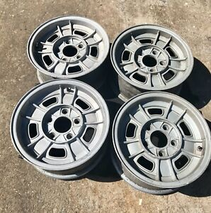 "Vintage BMW OEM 14"" Alloy Rims/Wheels E3 E9 E12 2800/3.0 CS 3.0 CSI Bavaria FPS"