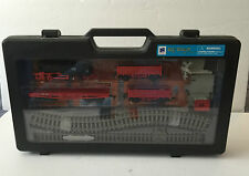 NEW RAY Toy Town Play Series Battery Operated Train Set in Plastic Case - Unused