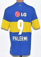 Boca Juniors Argentina 2011/2012 Hogar Camiseta De Fútbol Jersey Nike #9 Palermo