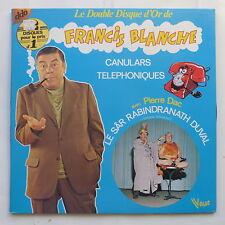 Double disque d or de FRANCIS BLANCHE Canulars telephoniques PIERRE DAC 416028
