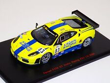 1/43 Red Line Ferrari F430 GT Krohn Racing Car #83 from 2008 24H of LeMans