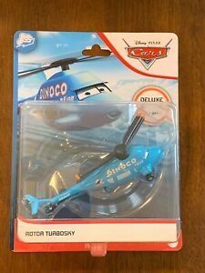 2020 DISNEY PIXAR ~ CARS ~ ROTOR TURBOSKY DELUXE DINOCO HELICOPTER