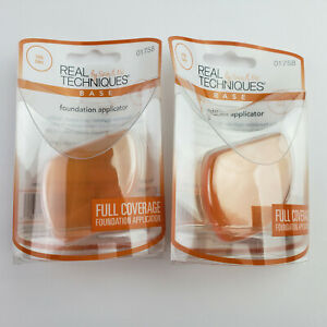 2 Packs Real Techniques Foundation Applicator #01758
