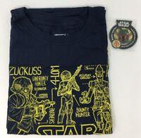 Disney Star Wars Smuggler's Bounty Boba Fett Patch and Bounty Hunter T-Shirt Set