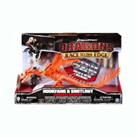 Official DragonsRace to the edge Toy Armour Figures - Toothless or Hookfang