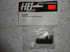 PARTS NEW Hot Bodies (HB), 67382 Rear chassis stiffener mount D8