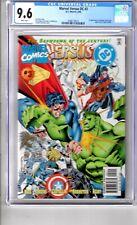 DC vs MARVEL #3 9.6 CGC WP ' 1st..App..AMAZON..Ya BABY'.Let..the..ACTION BEGIN!
