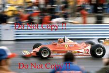 Gilles Villeneuve Ferrari 312 T4 Winner USA Grand Prix 1979 Photograph 1