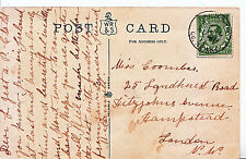 Genealogy Postcard - Family History - Coombes - Hampstead - London   419A