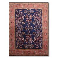 8'x10' Hand Knotted Masterpiece 250 KPSI Sourak Wool Persian Oriental Area Rug