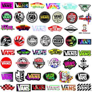 Vans Skateboarding Skate Stickers 10 Pack. - Vinyl Skate - Laptop / Car