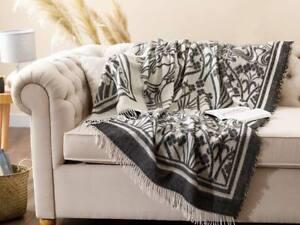 130x170cm Large Couch-Armchair-Sofa Throw, Blanket with Tassels,Livingroom Decor