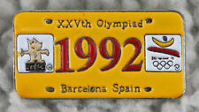 BARCELONA 1992 Olympic Games ORIGINAL PIN (Juegos Olímpicos). NEVER USED!